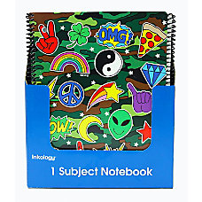 Inkology Corey Paige Notebooks 8 12