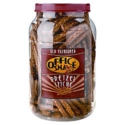 Office Snax Giant Pretzel Sticks 40