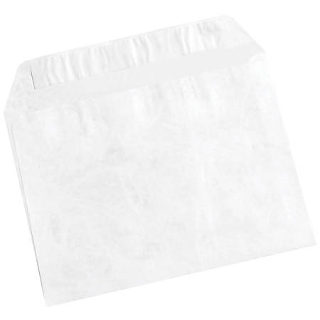 "Office Depot® Brand Tyvek® Flat Envelopes, 9"" x 12"", White, Case Of 100"