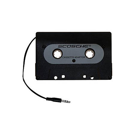 Scosche PCA1 Audio Cassette Adapter - 3.5mm