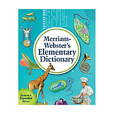 Merriam Websters Elementary Dictionary New Edition