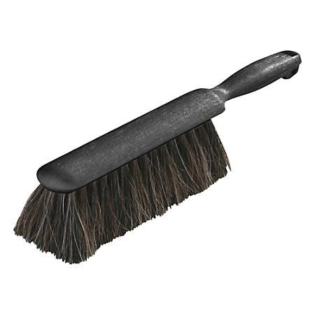 "Carlisle® Horsehair Counter/Radiator Brush, 13"", Black"