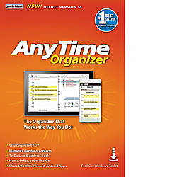 AnyTime Organizer Deluxe 16 Download Version