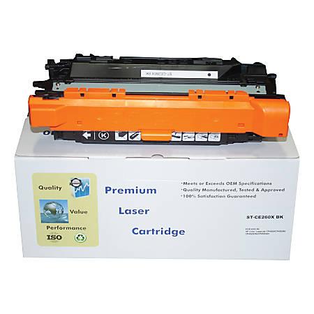 M&A Global Cartridges CE260X-CMA (HP 649X / CE260X) High-Yield Remanufactured Black Toner Cartridge