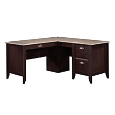 Sauder Samber L Shaped Transitional Desk
