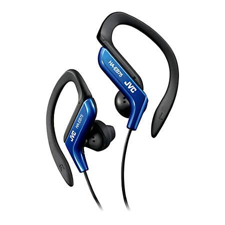 JVC Ear-Clip Headphones for Light Sports With Bass Enhancement