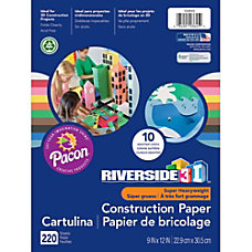Riverside 3D Construction Paper Project Modeling