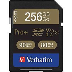 Verbatim Pro 256 GB SDXC