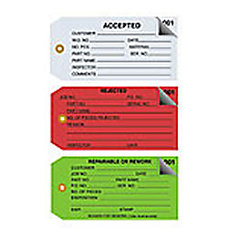 Office Depot Brand Inspection Tags 2