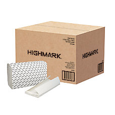 Highmark 100percent Recycled C Fold Paper