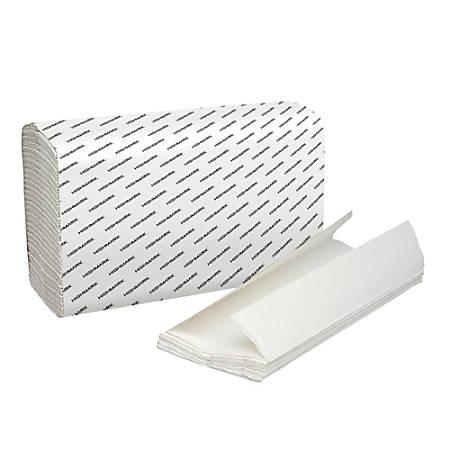Highmark 100percent Recycled C Fold Paper Towels White 150 Towels ... 39c4f60e105