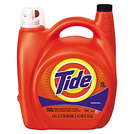 Tide® Ultra Liquid Laundry Detergent, Original Scent, 150 Oz, Pack Of 4