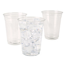 Highmark Plastic Cups 16 Oz Clear