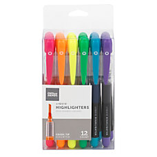 Office Depot Brand Liquid Ink Highlighters