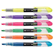 FORAY Liquid Ink Highlighters With Chisel