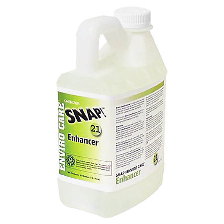 Rochester Midland Snap! Enviro Care Floor Enhancer, 0.5 Gallon, Pack Of 4