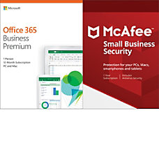Office 365 Business Premium With McAfee