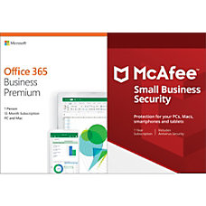 Microsoft Office 365 Business Premium McAfee
