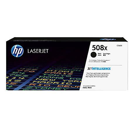 HP 508X High Yield Black Toner Cartridge (CF360X)