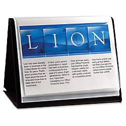 Lion Flip N Tell Display Book