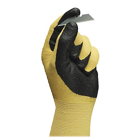 76ff15a54f6 R3 Safety HyFlex Ultra Nitrile Gloves Size 10 BlackYellow 1 Pair ...