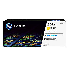 HP 508X High Yield Yellow Toner