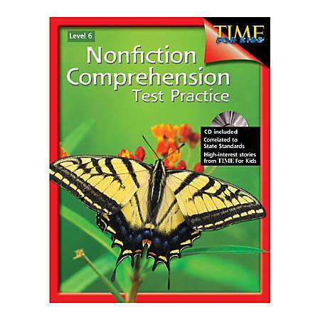 Shell Education Nonfiction Comprehension Test Practice, Grade 6