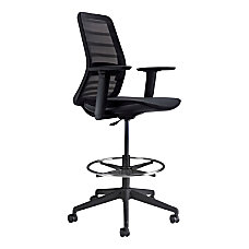 Koplus Tonique Mesh Drafting Chair Midnight