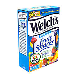 Welchs Mixed Fruit Snacks Box Of