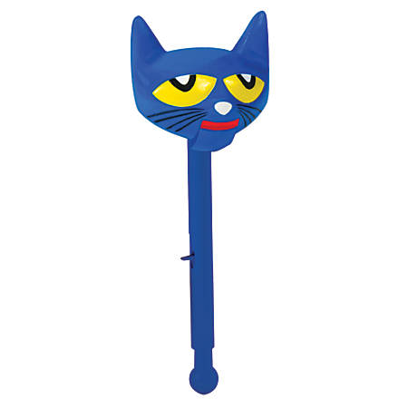 Educational Insight Pete The Cat® Puppet-On-A-Stick™, Multicolor, Pre-K To Grade 2