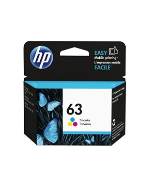 Print HP 63 Tri Color Ink Cartridge Mouse Over To Zoom