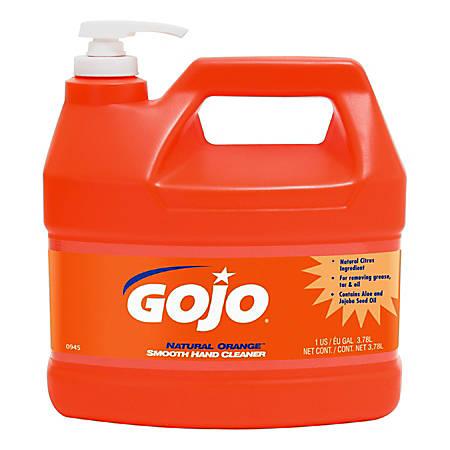 GOJO® Natural Orange Professional Formula Hand Cleaner, 1 Gallon