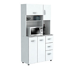 Inval Storage Cabinet With Microwave Stand