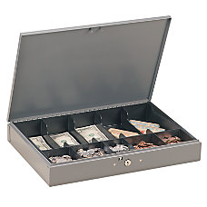 STEELMASTER Low Profile Cash Box 10