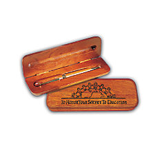 The Master Teacher Rosewood24k Gold Plated