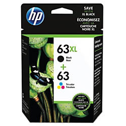 HP 6363XL BlackCyanMagentaYellow Ink Cartridges LOR48AN