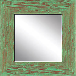 PTM Images Framed Mirror Mint Wood