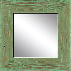PTM Images Framed Mirror Mint Wood