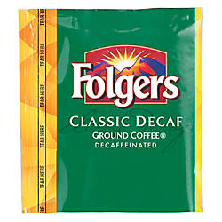 Folgers Classic Roast Decaffeinated Fraction Packs
