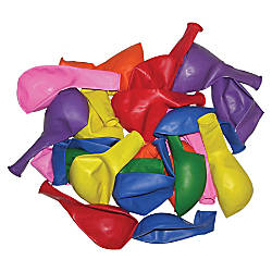 Tatco Latex Balloons 12 Assorted Colors