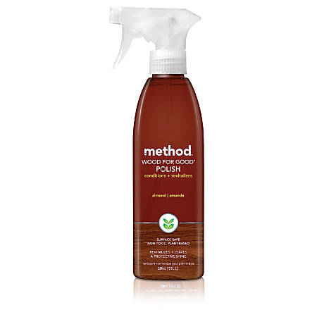 Method™ Wood For Good® Cleaners, Almond, 12 Oz.