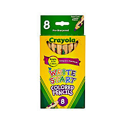 Crayola Write Start Color Pencils Set
