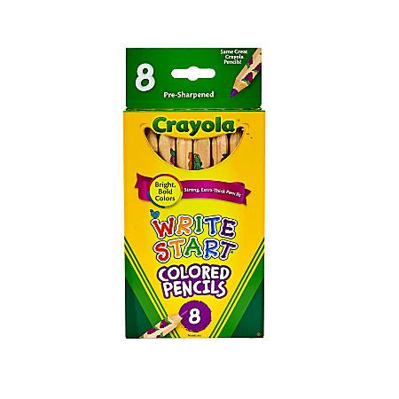 Crayola® Write Start® Color Pencils, Set Of 8 Colors