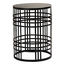 FirsTime Co Industrial Weave Metal Table