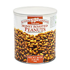 Superior Nut Honey Roasted Peanuts 56
