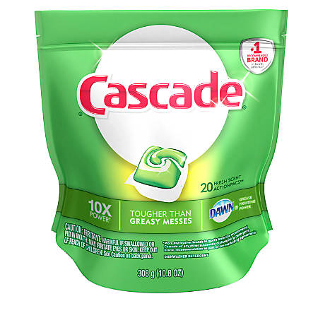 Cascade® 2-In- Action Pacs™, Pack Of 20