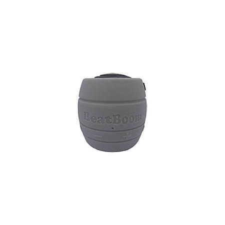 BeatBoom Speaker System - Wireless Speaker(s) - Portable - Battery Rechargeable - Black, Silver