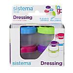 Sistema Dressing Pots To Go Assorted