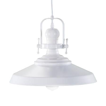 "Southern Enterprises Mindel LED Bell Pendant Lamp, 11-1/2""H, Matte White"