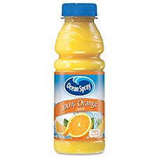Ocean Spray Pepsico Bottled Orange Juice